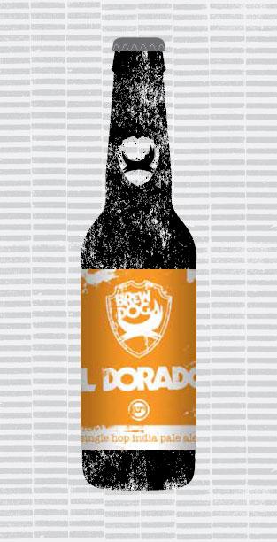 IPA IS DEAD - EL DORADO packaging