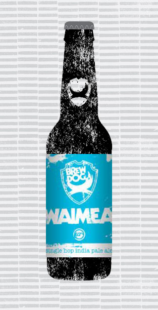 IPA IS DEAD - WAIMEA packaging