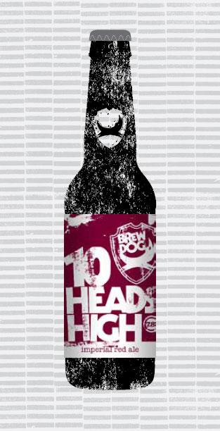 10 HEADS HIGH packaging