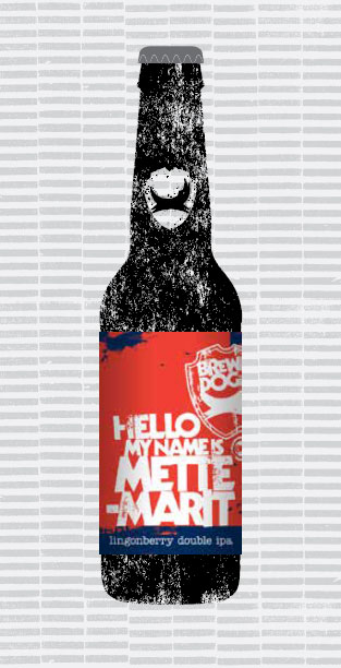 HELLO MY NAME IS METTE-MARIT packaging