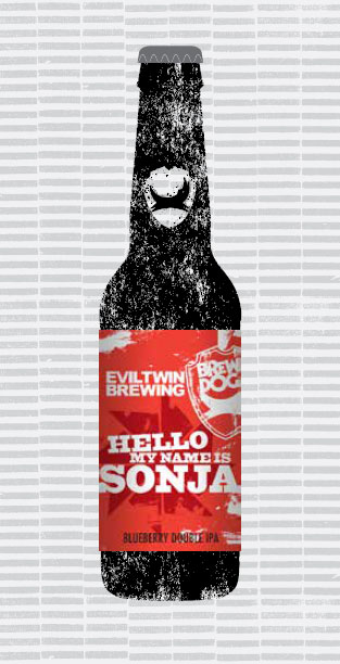HELLO MY NAME IS SONJA (W/EVIL TWIN) packaging