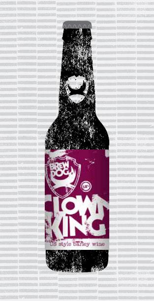 CLOWN KING packaging