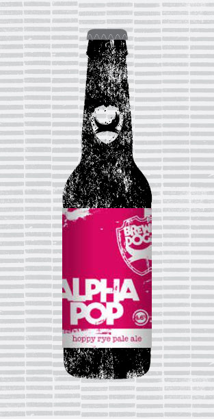 ALPHA POP packaging
