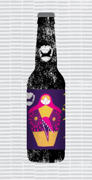 RUSSIAN DOLL - DOUBLE IPA packaging