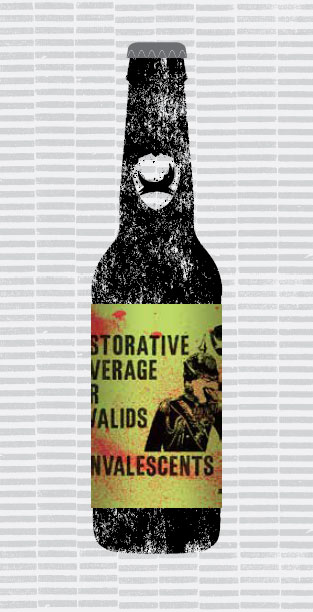 RESTORATIVE BEVERAGE FOR INVALIDS AND CONVALESCENTS packaging