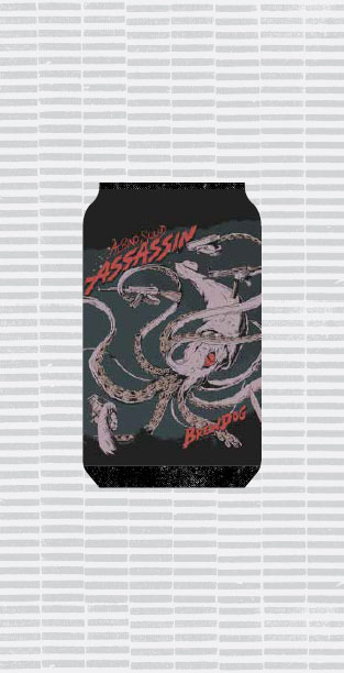 ALBINO SQUID ASSASSIN packaging