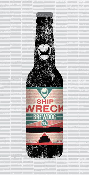 SHIP WRECK packaging