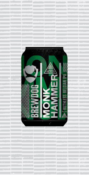 MONK HAMMER packaging