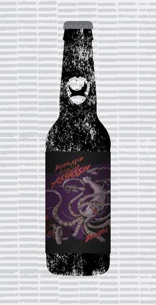 BARREL AGED ALBINO SQUID ASSASSIN packaging