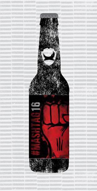 #MASHTAG 2016 packaging