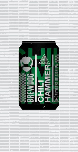 CHILI HAMMER packaging