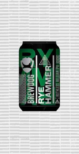RYE HAMMER packaging