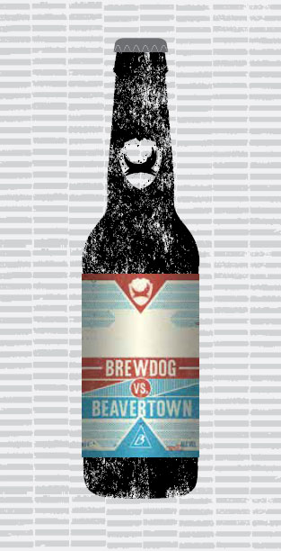 BREWDOG VS BEAVERTOWN packaging