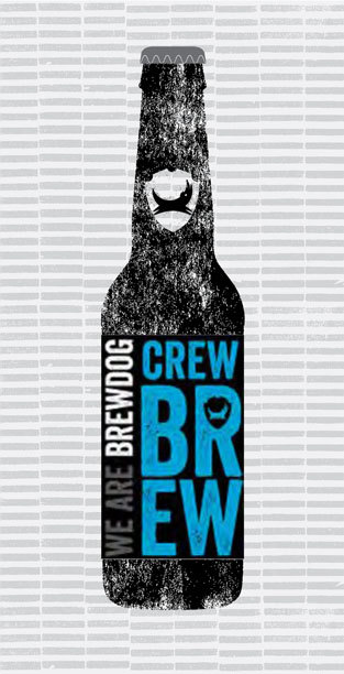 CREW BREW packaging