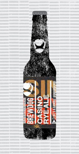CASINO RYE ALE packaging