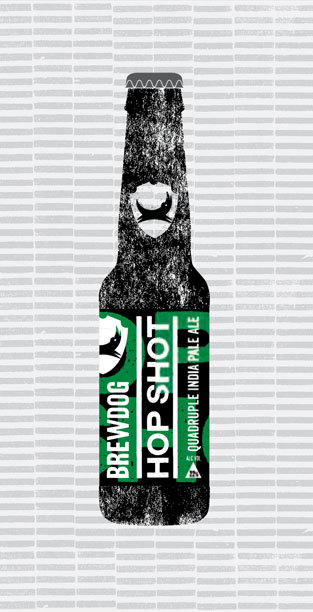 HOP SHOT packaging