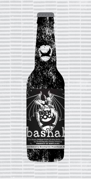 BASHAH (W/STONE BREWING CO) packaging