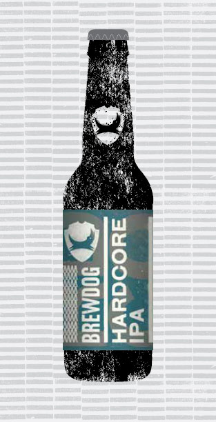 HARDCORE IPA packaging