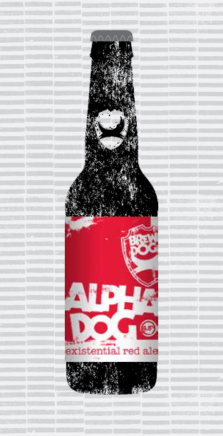 ALPHA DOG packaging