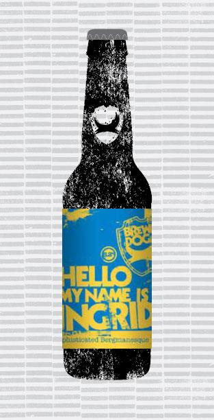 HELLO MY NAME IS INGRID packaging