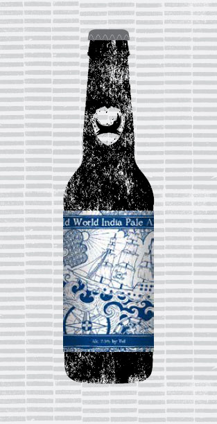 OLD WORLD INDIA PALE ALE packaging