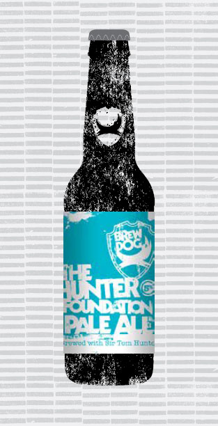 HUNTER FOUNDATION PALE ALE packaging