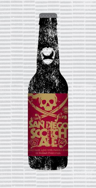 SAN DIEGO SCOTCH ALE (W/BALLAST POINT) packaging